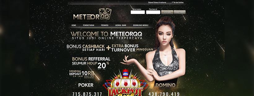 Meteorqq | Login MeteorQiu | Daftar MeteorQQ | Login Meteorqq Alternatif